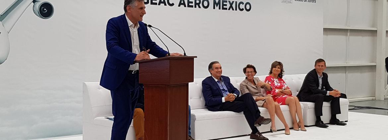 Inauguration Figeac Aero Mexico Mai 2018