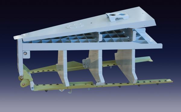 Dassault 7FX tail unit