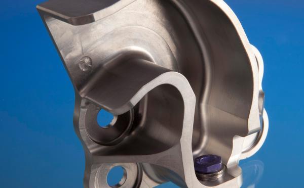 A350 titanium fittings