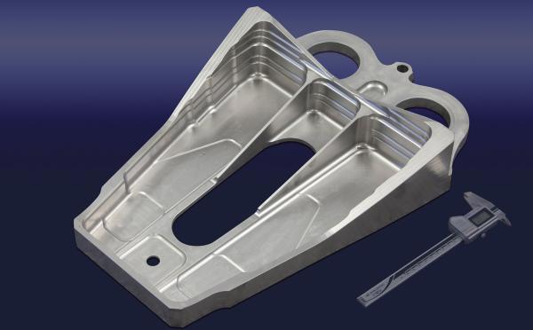 A320 titanium engine pylon part